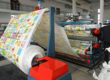 Cina One Feed EPE Foam Machine Mesin Lapisan Film Warna Ramah Lingkungan pabrik